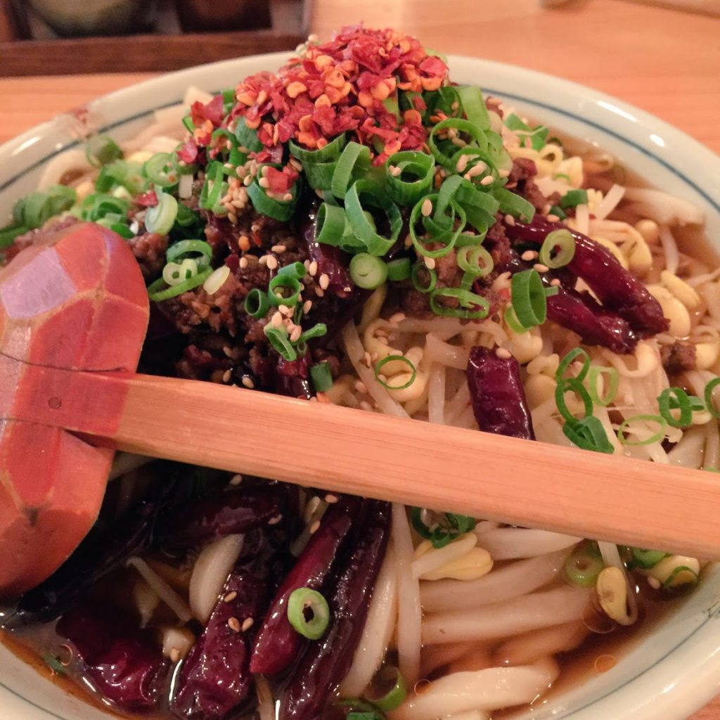 四川麻辣醤麺