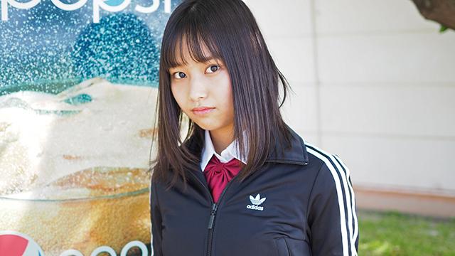 美少女図鑑アワード2020 準グランプリ 古波蔵心杏 tracktop girl アザーカット1