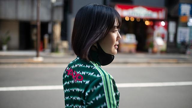 【ポートレート】【アザーカット】大石理乃、ジャージ、桜