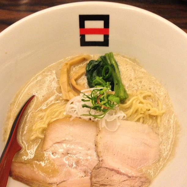 麺処hachi 極煮干ラーメン