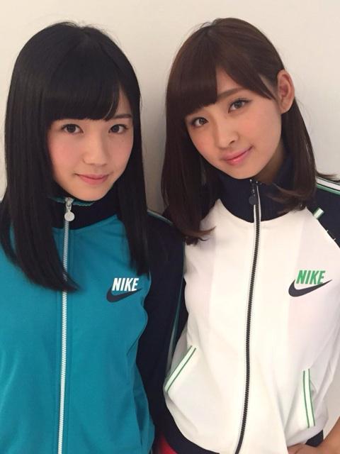 名古屋駅西アイドル・delaの早見紗英と片岡かずさ